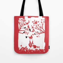 THE LONELY FOX Tote Bag