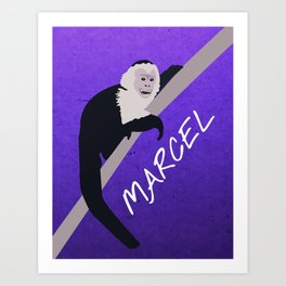 Friends 20th - Marcel Art Print