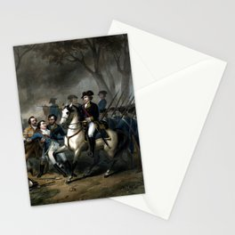 Life Of George Washington -- The Soldier Stationery Cards