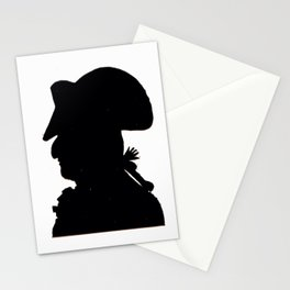 Pirate silhouette Stationery Cards