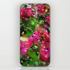 Summer Garden Abstract iPhone & iPod Skin
