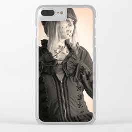 Infectious Clear iPhone Case