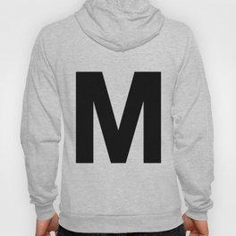 Letter M (Black & White) Hoody