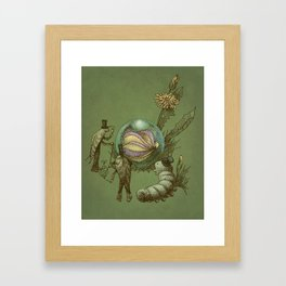 It Fell From The Sky  Framed Art Print