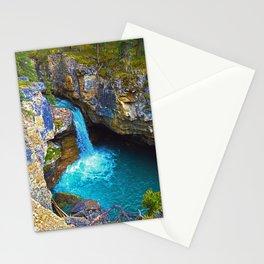 Stanley Waterfall & Beauty Creek, Jasper National Park Stationery Cards