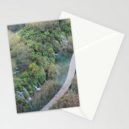 Plitvice National Park Boardwalk Croatia Stationery Cards