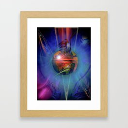 Our world is magic - Freedom Framed Art Print