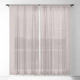 Be Great ~ Sand Sheer Curtain