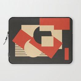 Geometrical abstract art deco mash-up Laptop Sleeve