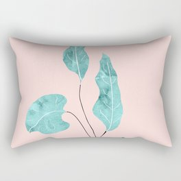 Tropical Leaves Finesse #2 #wall #decor #art #society6 Rectangular Pillow