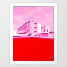 Bauhaus · Das Bauhaus 5 Art Print