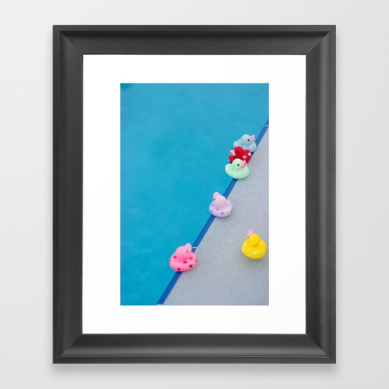 Rub A Dub Dub Framed Art Print