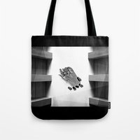 calendars Tote Bags featuring Calendars for Analytics by mofart photomontages