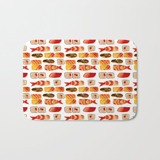 Sushi vibes Bath Mat