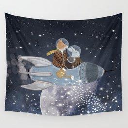 creating stars Wall Tapestry