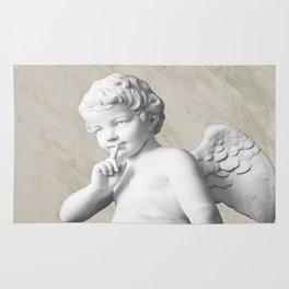 Ancient Sculpture Angel Decor Rug