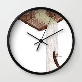 La Cascata Wall Clock
