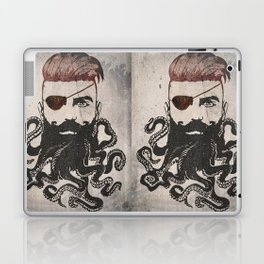 Black Beard Laptop & iPad Skin