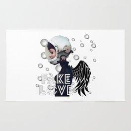 FAKE LOVE (Tear) Rug