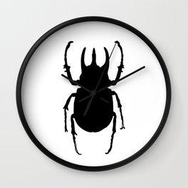 Chalcosoma Caucasus Rhinoceros Beetle Wall Clock
