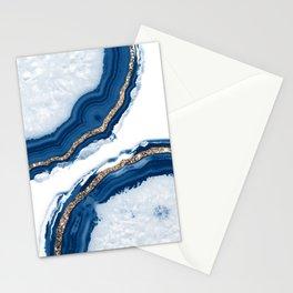Agate Glitter Glam #15 #gem #decor #art #society6 Stationery Cards