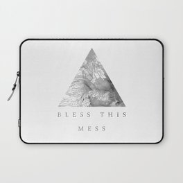 Bless this mess Laptop Sleeve
