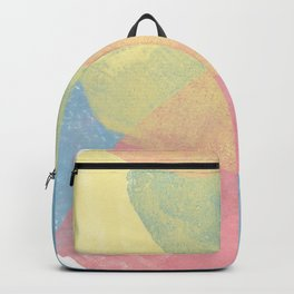 Happy Cairn Graphic Abstract Print Backpack