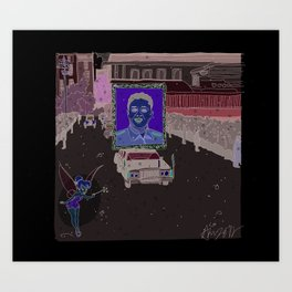 """Magic Kingdom"" (North Korea) Art Print"