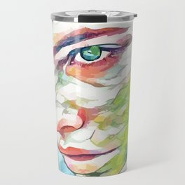 Barbara Palvin (Creative Illustration Art) Travel Mug