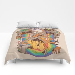 A Fragmented Reality Comforters