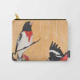 Rest Flowering Quince Rose-breasted Grosbeak Carry-All Pouch