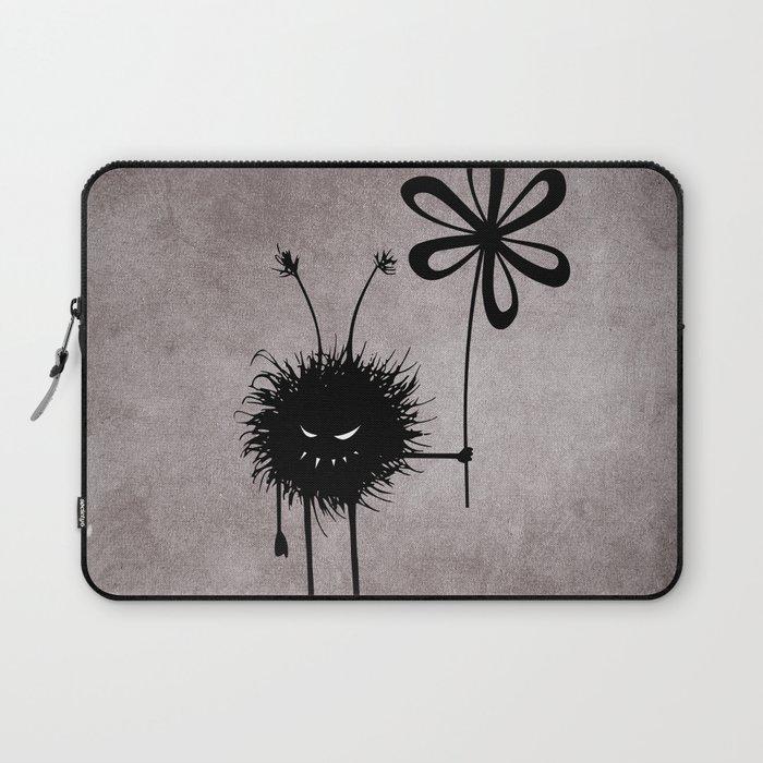 Evil Flower Bug Laptop Sleeve