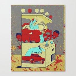 Game Box Canvas Print