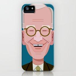Comics of Comedy: David Letterman iPhone Case