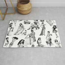 Pin Up Girls Rug