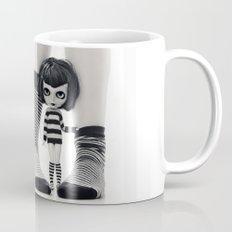 We love Socks in BW stripes Coffee Mug