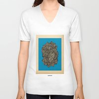 boat V-neck T-shirts featuring - boat - by Magdalla Del Fresto
