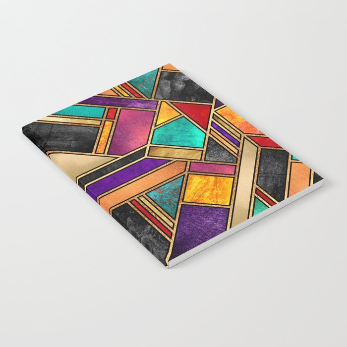 Colorful City Night Notebook