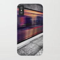subway iPhone & iPod Cases featuring Subway by Yancey Wells