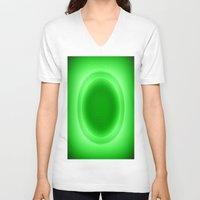neon V-neck T-shirts featuring Neon  by SimplyChic