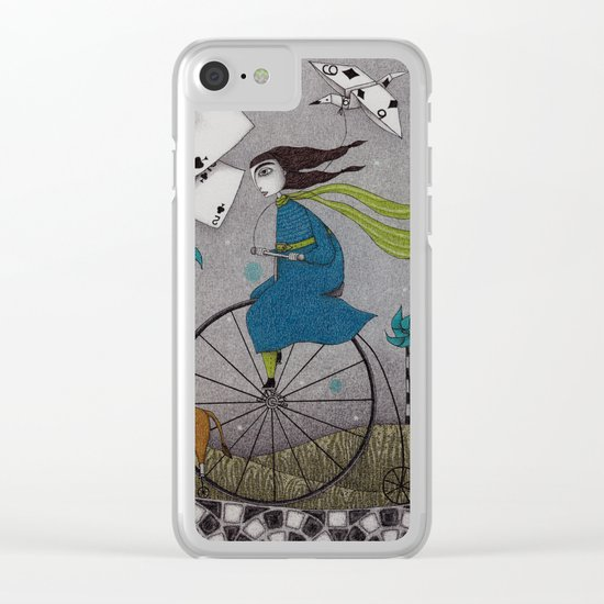 I Follow the Wind Clear iPhone Case