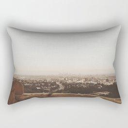 Mulholland Drive - L.A. Rectangular Pillow