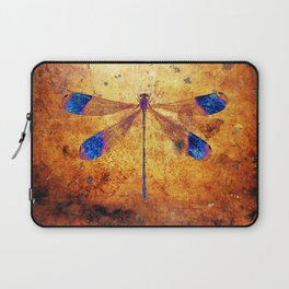 Dragonfly in Amber Laptop Sleeve