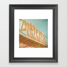 Mouse Framed Art Print