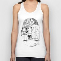 couple Tank Tops featuring Couple by Mono Ahn