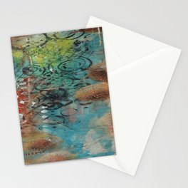 Markings of time Stationery Cards