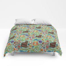 Candy Pattern Comforters