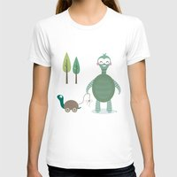 tortoise T-shirts featuring Tortoise by Esther Ilustra