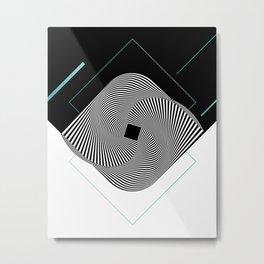 Op-Art Metal Print