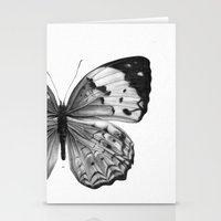 butterfly Stationery Cards featuring Butterfly by Hermes_GC